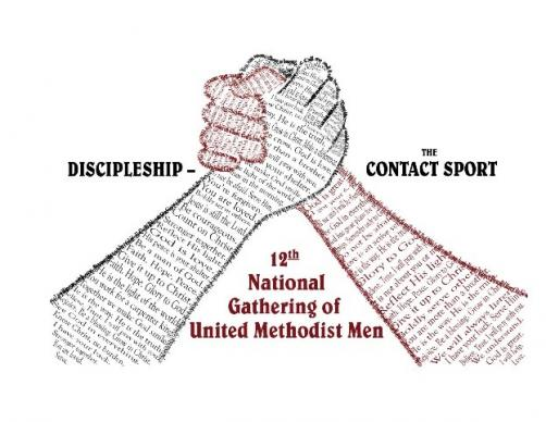United Methodist Men conference logo. Artwork courtesy of United Methodist Men