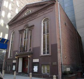 John Street United Methodist Church, New York. Photo courtesy of Wikimedia Commons