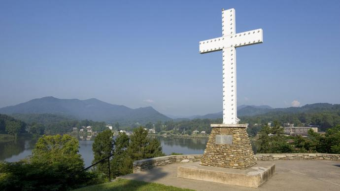 Lake Junaluska, North Carolina. Photo by Mike Dubose, United Methodist Communications