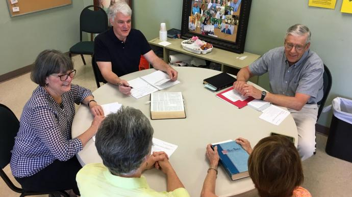 Lent 2017 included the introduction of covenant discipleship groups at Fairhope United Methodist Church in Alabama. Photo by Laura Parker