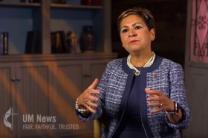Video image of Bishop Cynthia Fierro Harvey courtesy of United Methodist News Service.