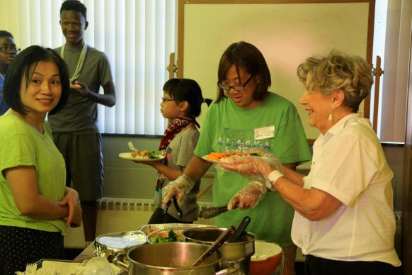 Members of Centenary UMC in Metuchen, New Jersey celebrate diversity and the love of God through service and community.