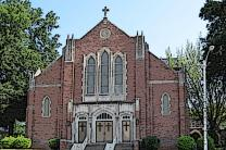United Methodist Church at Summer Avenue and Highland Street in Memphis, Tennessee. Photo by Thomas R Machnitzki, courtesy of Wikimedia Commons; edited by UMCOM.org.