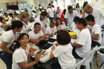 A training class in the Philippines hosted by United Methodist Communications in 2015. Photo courtesy of United Methodist Communications.