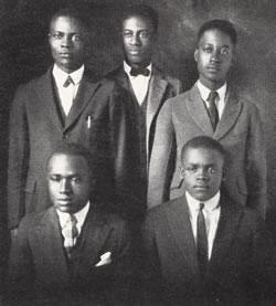 The 1935 Wiley College debate team rose to prominence in the United States in 1935 with wins over perennial powerhouses.