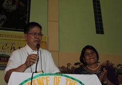 Bishop Ciriaco and Restetita Francisco