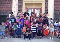 Programming for children is one of the emphases of the Hilltop Community Shalom Zone, recipient of a 2012 Peace with Justice grant.