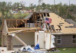 Tornadoes caused heavy damage in the rural Little Axe, Okla., community.