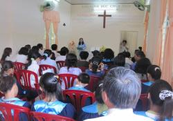 Vietnam was home to 85 new United Methodist congregations 18 months after a Global Ministries mission initiative began there in January 2009.