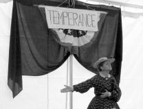 Temperance worker portrayal