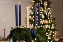 Advent wreath - Glendale UMC