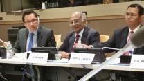 Levi Bautista at UN