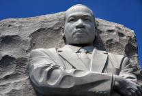 The Rev. Martin Luther King Jr. sculpture detail