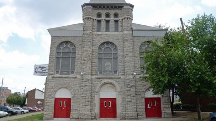 Mother African Zoar United Methodist Church, Philadelphia. Photo courtesy of MotherZoarUMC.org