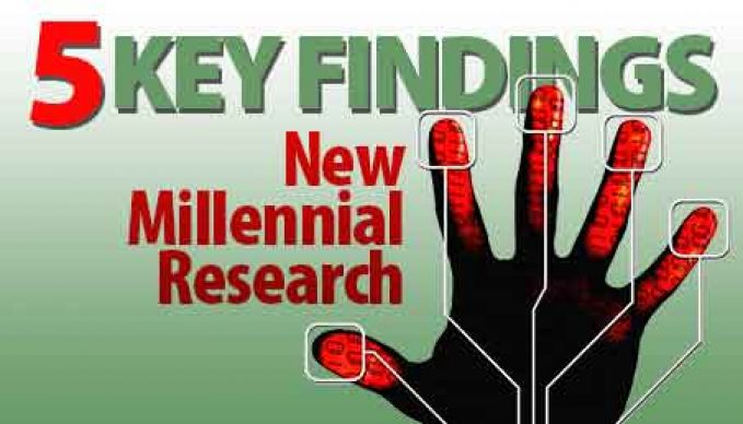 5 key findings new millennial Research