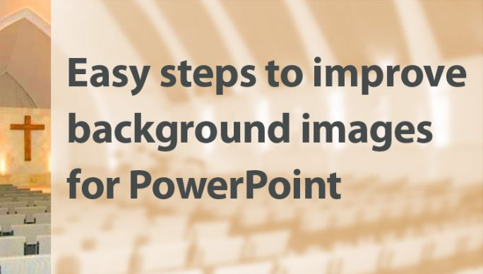 easy steps to improve background images for powerpoint umc tips