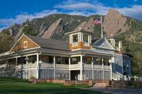 Image of the Dining Hall at Colorado Chautauqua National Historic Landmark. Photo by Jonathan B. Auerbach.