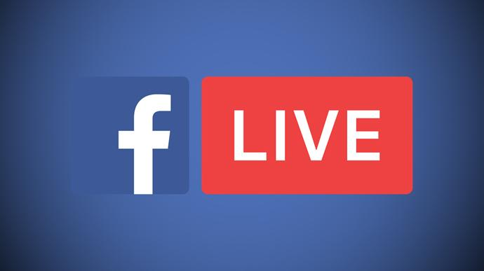 Use Facebook Live to stream your church events