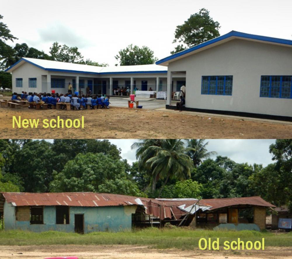 United Methodist school gets new building