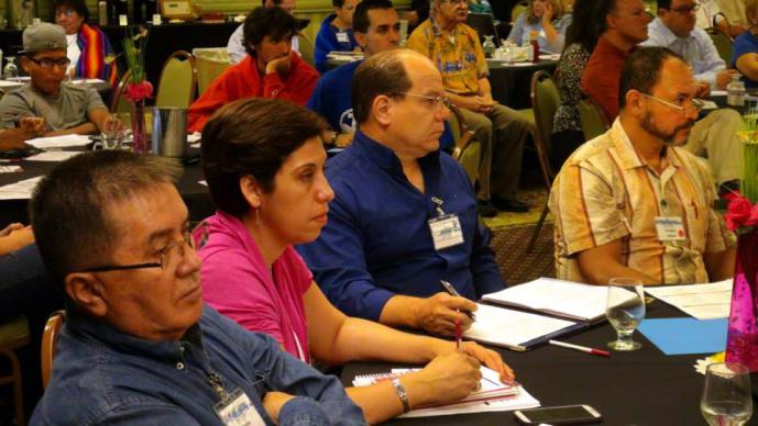 Members attend a workshop session during MARCHA 2015 in Madison, Wis. on August 14, 2015. Photo by Michelle Maldonado, UMNS
