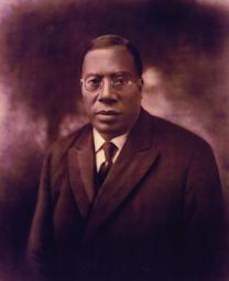 Image of the Rev. Charles Albert Tindley. Courtesy: Tindley Temple United Methodist Church