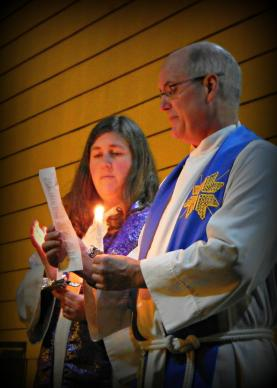 The Rev. Courtney McHill, a United Methodist elder, and The Rev. Mark Pederson are co-pastors at McMinnville Cooperative Ministries in McMinnville, Oregon. The joint United Methodist-Lutheran church has been letting homeless people camp there, something the city says must stop.