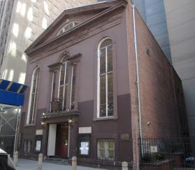 250-year-old John Street United Methodist was near 9/11 attacks in New York City. Image by Beyond My Ken, WikiMedia Commons.