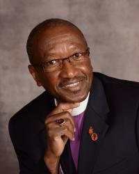 Bishop Marcus Matthews, a South Carolina native and civil rights movement veteran, has had an intense personal reaction to the shootings at Emanuel African Methodist Episcopal Church in Charleston, S.C. 2012 file photo courtesy of the Council of Bishops