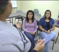Native American teens participate in a tobacco prevention program hosted by the Committee on Native American Ministries of the North Carolina Conference.