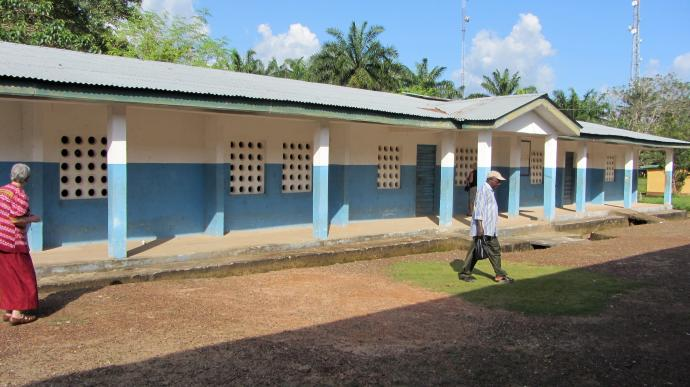 "This building is being considered for academic space for Taidama Enterprise Academy located in Sierra Leone near Njala University. For nearly 30 years, Operation Classroom's primary mission has been ""To Partner with the United Methodist Church in Liberia and Sierra Leone to Improve Education."" Photo courtesy of Bob Coolman"