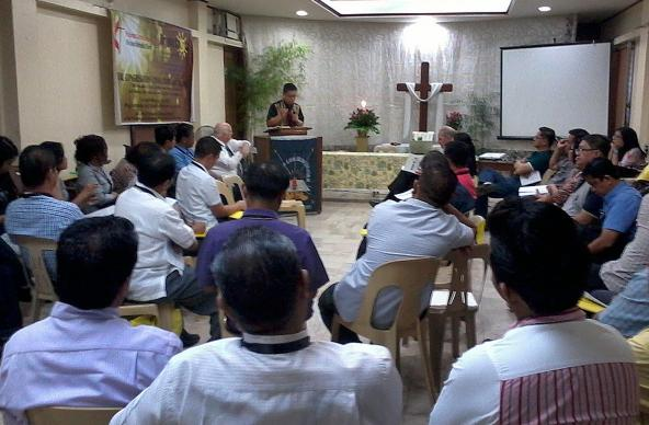 "About 35 people gathered at Knox United Methodist Church in Manila for the first day of a ""bright spots"" training. The gathering drew people from all three episcopal areas in the Philippines to discuss how"