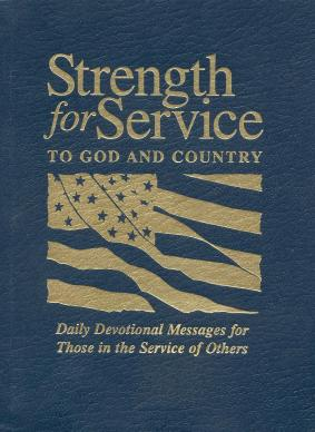 "The devotional ""Strength for Service to God and Country"" has become a spiritual resource for the U.S. military. Photo courtesy of United Methodist Men."