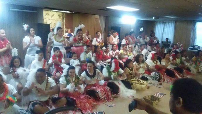 Dancers from the Seattle First Tongan United Methodist Church's youth ministry perform during a fundraising concert.  In 2014, The United Methodist Church saw its Pacific Islander membership go up by nearly 7 percent in the U.S. Photo courtesy of Seattle First Tongan United Methodist Church
