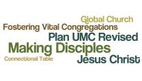 Plan UMC agency restructuring got a chilly reception at the 2016 General Conference. Church leaders still are looking for how agencies can better serve the global connection. Wordle by Kathleen Barry, UMNS