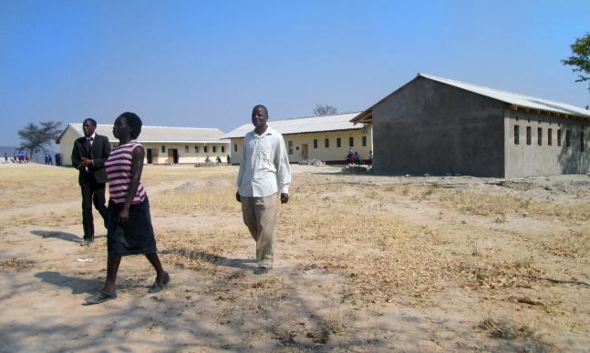 Classroom blocks at Nyamacheni Mission secondary school in Gokwe, Zimbabwe. Photo courtesy Eveline Chikwanah