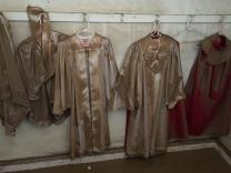 Last week's floods in West Virginia gave a muddy look to lots of things, including choir robes at Clendenin United Methodist Church. The church, in Clendenin, near Charleston, took in a few feet of water in its basement. Photo by the Rev. Amy Shanholtzer, West Virginia Conference