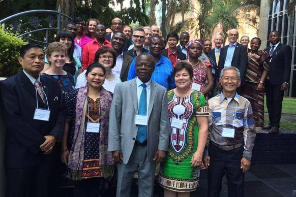 The Commission on Central Conference Theological Education Fund, has awarded $1 million in grants to fund pastoral training in Africa, Philippines and Europe. The commission met in Harare, Zimbabwe, Jan. 5-8.