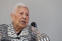 Native American scholar Henrietta Mann is a descendent of survivors of the 1864 Sand Creek Massacre in Eads, Colo. The 2016 United Methodist General Conference in Portland, Ore., will receive a report about the massacre during its May 18 afternoon session. Photo by Mike DuBose, UMNS.
