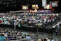 General Conference 2016 made a decision to put the issues of human sexuality on hold. Since then, three openly gay pastors are candidates for episcopal elections when the five U.S. jurisdictions of The United Methodist Church meet July 13-16. File photo by Kathleen Barry, UMNS