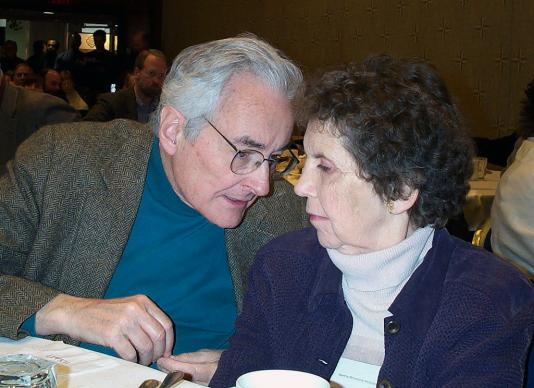 The Rev. Hoyt Hickman and his wife, Martha. Hoyt Hickman, who died Sept. 5, 2016, is credited with helping to shape United Methodist worship through his editing, writing and teaching. Photo courtesy the Rev. Heather Murray Elkins.