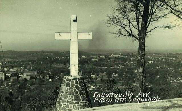 In 1922, the mountain overlooking Fayetteville, Ark., won the competition to be a new Methodist retreat center. Mount Sequoyah Retreat and Conference center has been a part of Methodist life ever since, but ownership of the center is shifting to a local nonprofit. Photo courtesy Mount Sequoyah Retreat and Conference Center