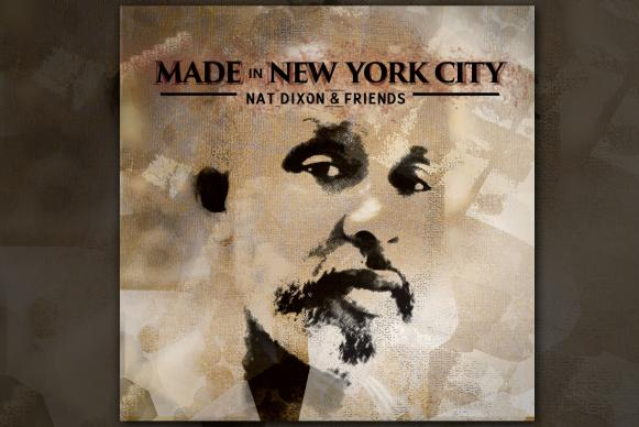 "The Rev. Nat Dixon, pastor of St. Stephen's United Methodist Church in the Bronx, N.Y., is featured on the cover his new jazz CD, ""Made in New York City: Nat Dixon and Friends."" Dixon plays tenor saxophone. Image courtesy the Rev. Nat Dixon."