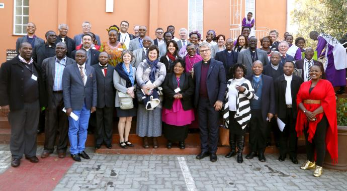 Forty years after the Soweto uprising, leaders of churches in conflict-torn countries gathered in South Africa to study the ways of peace and reconciliation. The ecumenical gathering in Johannesburg was organized by the World Council of Churches and the South African Council of Churches. Photo courtesy of the World Council of Churches