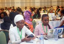 The African Summit on Women and Girls in Technology explored how technology policy can further the rights and interests of women in Africa. Photo by Priscilla Muzerengwa.