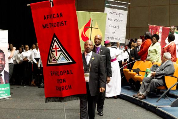 The World Methodist Conference last occurred in 2011, in Durban, South Africa, and brought together many Methodist-related denominations. Another such conference is set for Houston, Aug. 31-Sept. 3, with some 2,500 people from around the world expected to attend. Photo courtesy World Methodist Council