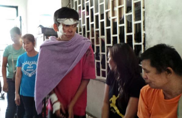 This inmate was being processed while members of New Hill Burning Bush United Methodist Church was visiting the Camalig Meycauayan City Jail in Bulacan, Philippines. The church started the ministry in 2016.