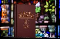 Annual conference voters in the coming months will consider five potential amendments to The United Methodist Church's constitution, which is part of the Book of Discipline. Photo by Mike DuBose, UMNS
