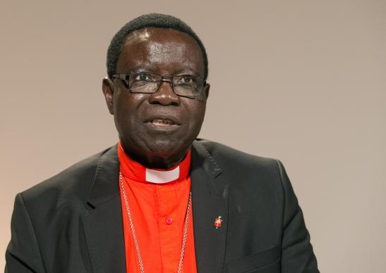 Bishop Kasap Owan is leader of The United Methodist Church's South Congo Episcopal Area. Photo by Mike DuBose, UMNS.