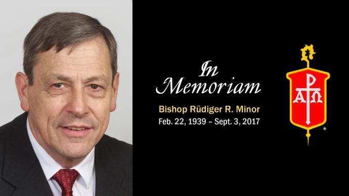 United Methodist Bishop Ruediger R. Minor died Sept. 3, 2017. Photo by Mike DuBose, UMNS.