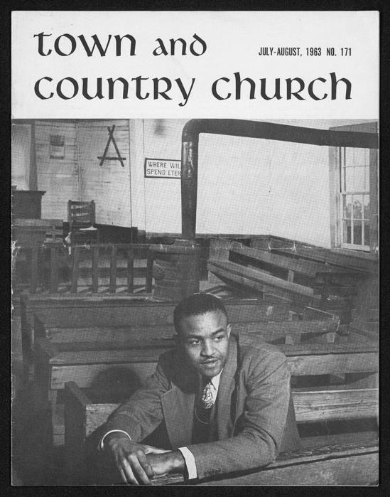 As a young clergyman, the Rev. Ernest T. Dixon received magazine coverage for his economic development ministry at Tuskegee Institute. He would become a United Methodist bishop and is one of three African-American bishops featured in a new exhibit at Perkins School of Theology's Bridwell Library. Photo courtesy Bridwell Library.